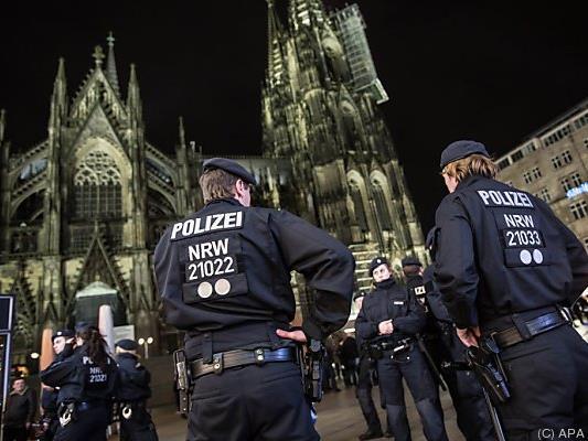 Die Situation im Zentrum von Köln eskalierte