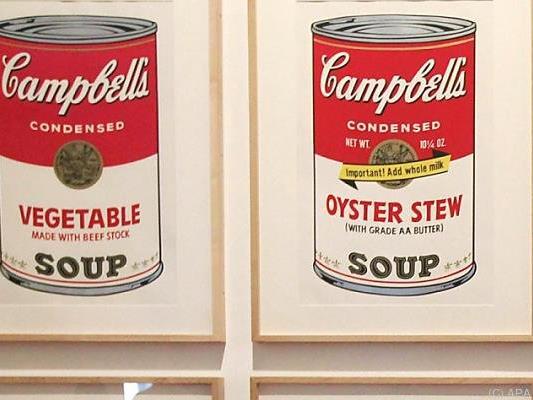 """Arbeiten aus """"Campbell Soup""""-Reihe wurden gestohlen"""