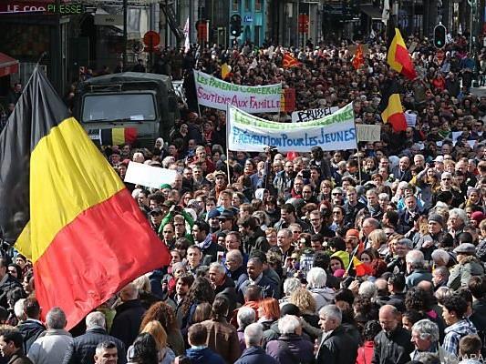 Tausende solidarisierten sich mit den Opfern