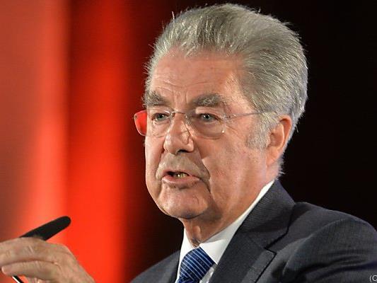 Bundespräsident Fischer wirbt um Verständnis für Österreichs Position