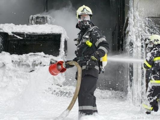 Feuerwehr-Großeinsatz in der Südoststeiermark