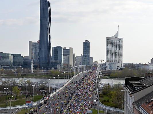 Zum 33. Mal findet der Wien-Marathon statt