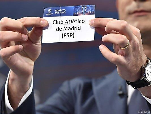 Atletico Madrid ist der CL-Halbfinalgegner der Bayern