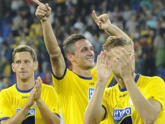 St. Pölten marschiert in Richtung Bundesliga