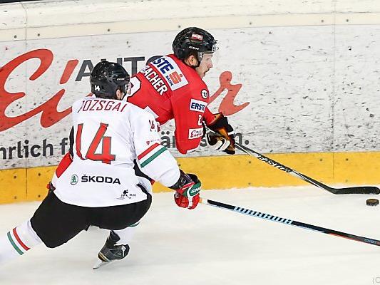 Kein Erfolgserlebnis für Österreichs Eishockey-Team