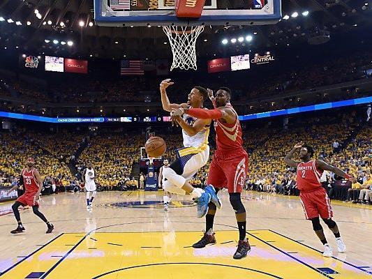Curry war nur von einer Knöchelverletzung zu stoppen
