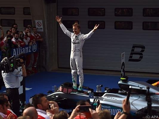 Für Rosberg könnte die Saison nicht besser laufen