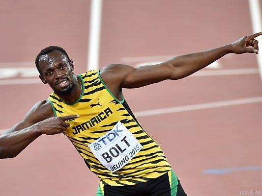Kinder können Usain Bolt über 100 m für 9,58 Pfund sehen
