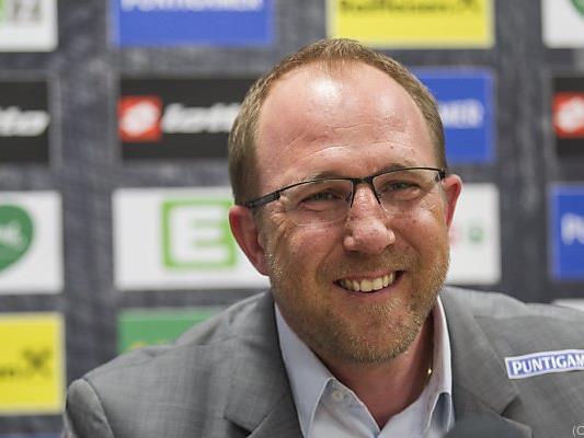 Sturms neuer Sport-Geschäftsführer Günter Kreissl