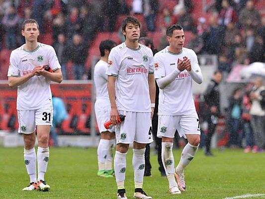 Hannover 96 muss in die zweite Liga