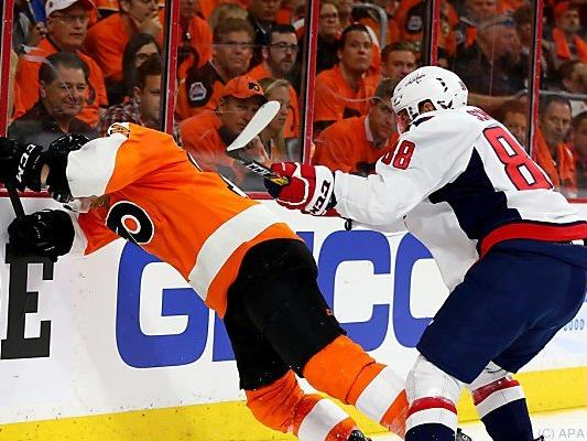 Capitals setzten sich gegen Flyers durch