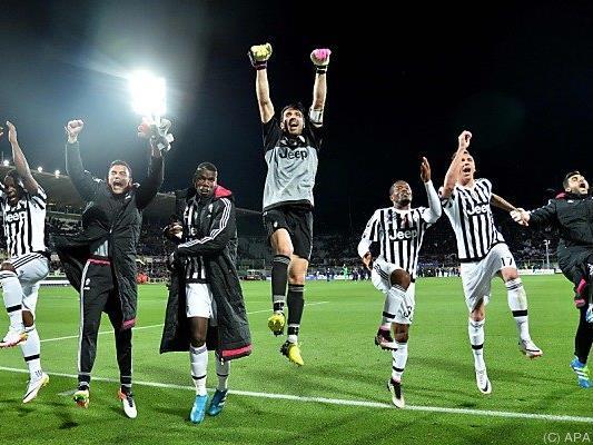Juventus feierte bereits nach Sieg am Sonntag ausschweifend
