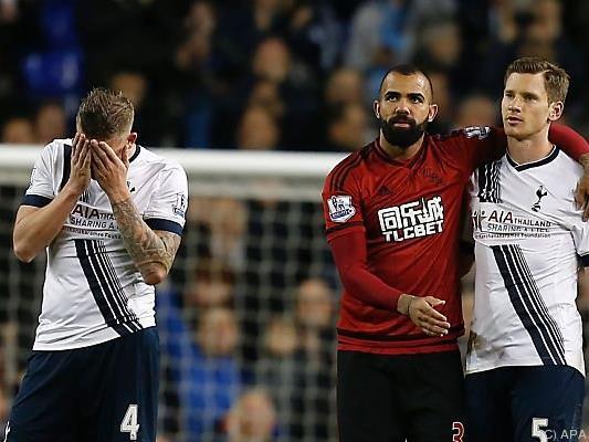 Tottenham gegen West Bromwich nur 1:1