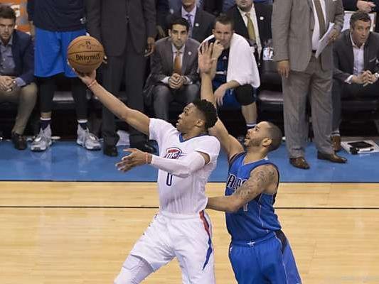 Russell Westbrook dominierte die Partie gegen Dallas