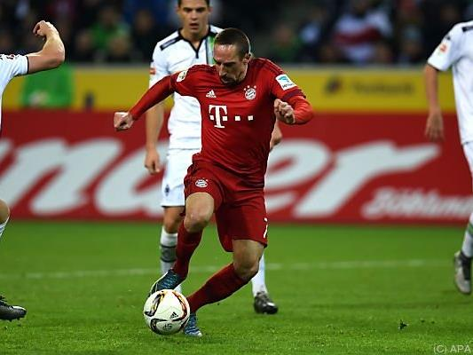 Ribery hofft auf Einsatz von Anfang an