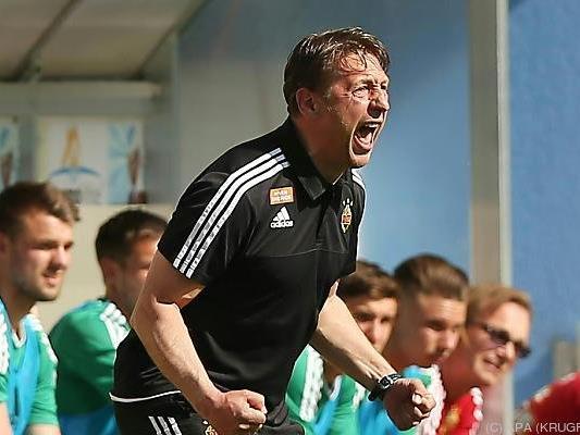 Zoran Barisic konnte seinen Zorn kaum zurückhalten