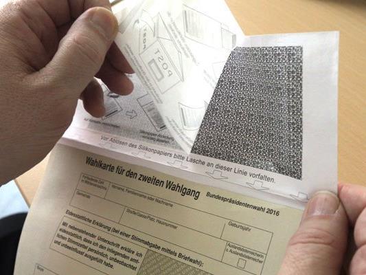 Am Montag werden die Briefwahlstimmen ausgezählt - sie dürften jedoch kaum Ergebnis-Veränderungen bringen.