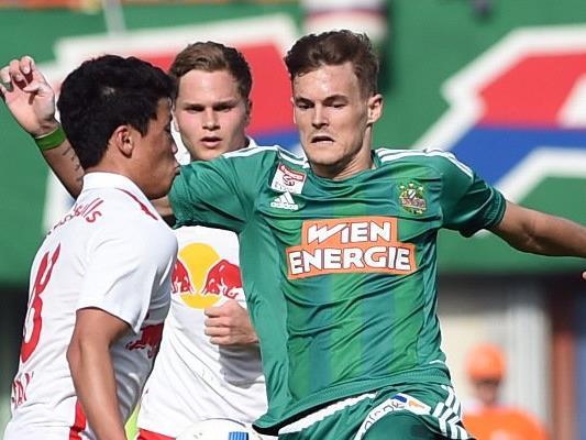 Rapid zeigte sich gegen Salzburg stark verbessert, das Unentschieden hilft Stefan Stangl und Co. aber nicht entscheidend weiter.