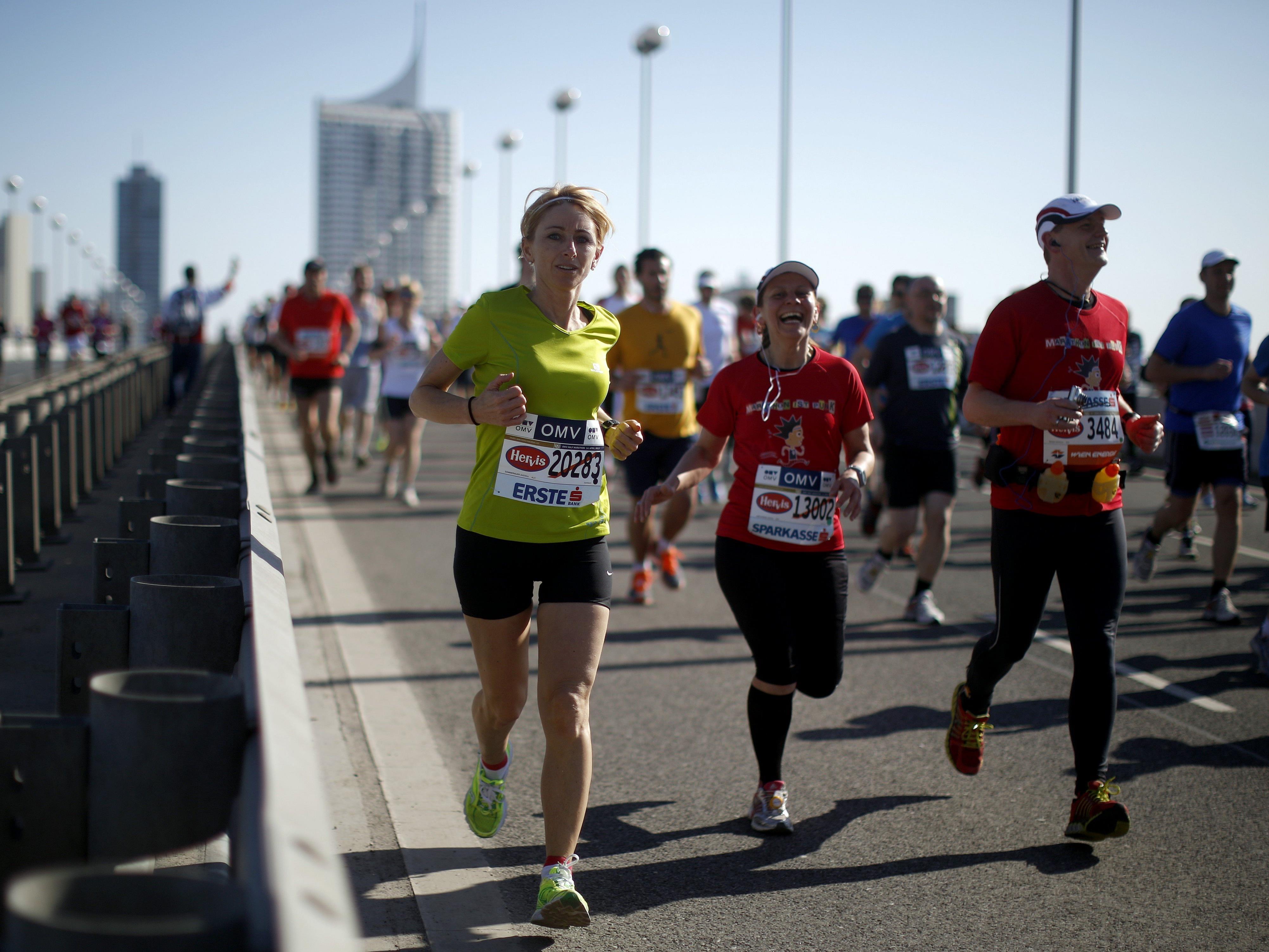 So wird das Wetter beim Vienna City Marathon 2016.