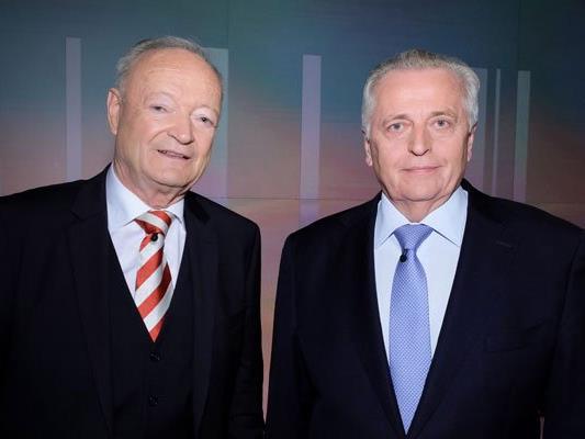Die BP-Kandidaten von ÖVP und SPÖ liegen laut Umfragen hinten.
