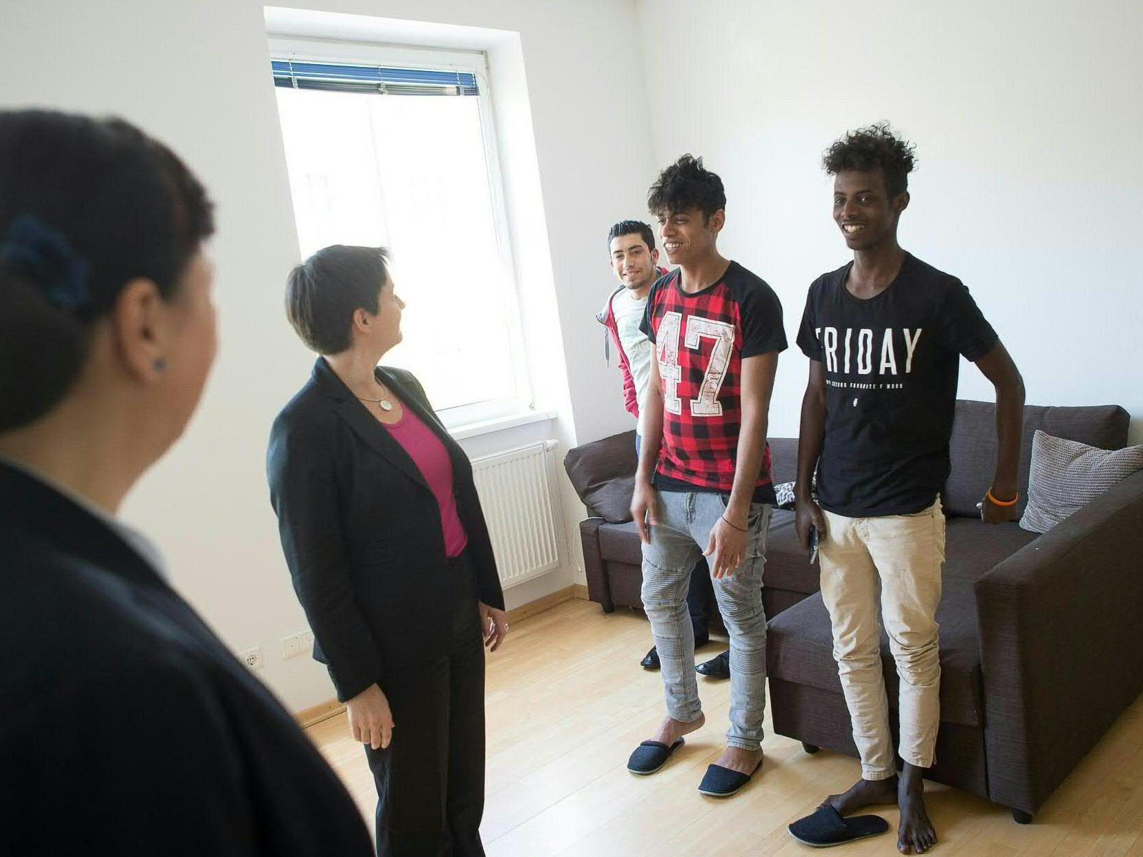 Das SOS-Kinderdorf hat eine neue Unterkunft für jugendliche Flüchtlinge eröffnet.