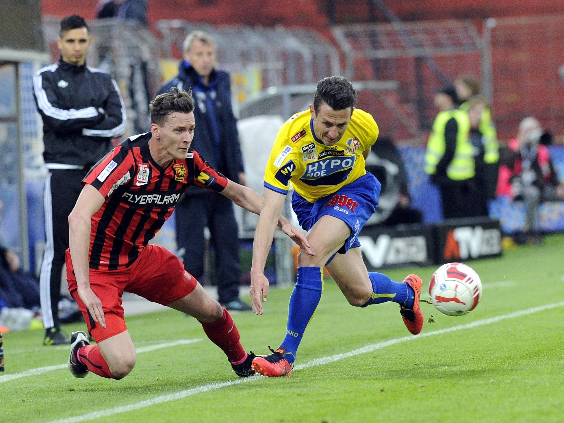 Admira Wacker gewinnt ÖFB-Semifinale gegen SKN St. Pölten.
