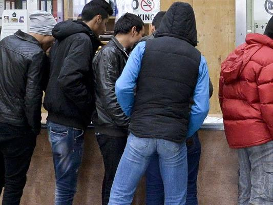 Zwei Jugendliche Asylwerber gerieten in einem Streit aneinander.