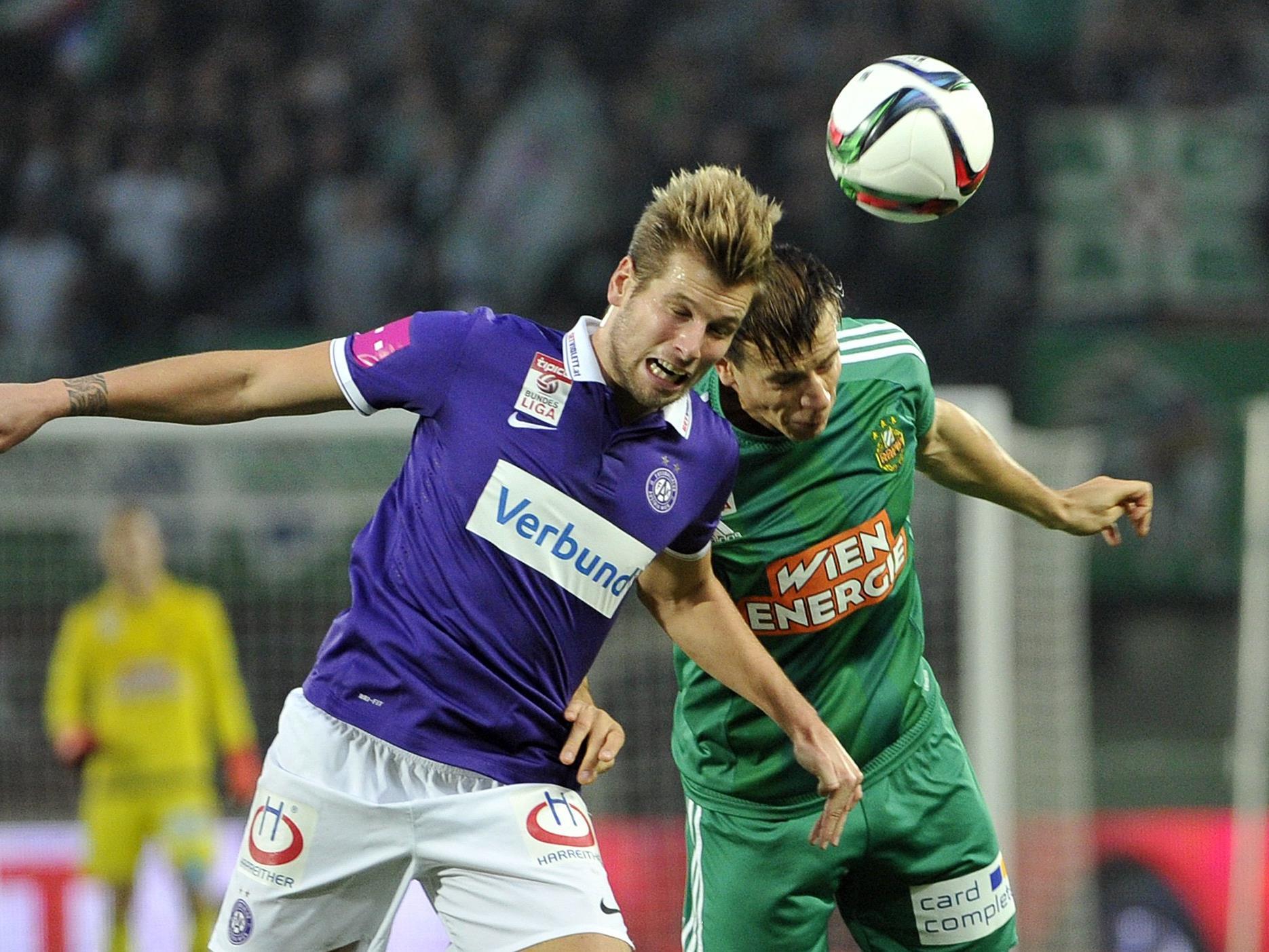 LIVE-Ticker zum Spiel SK Rapid Wien gegen FK Austria Wien ab 16.30 Uhr.