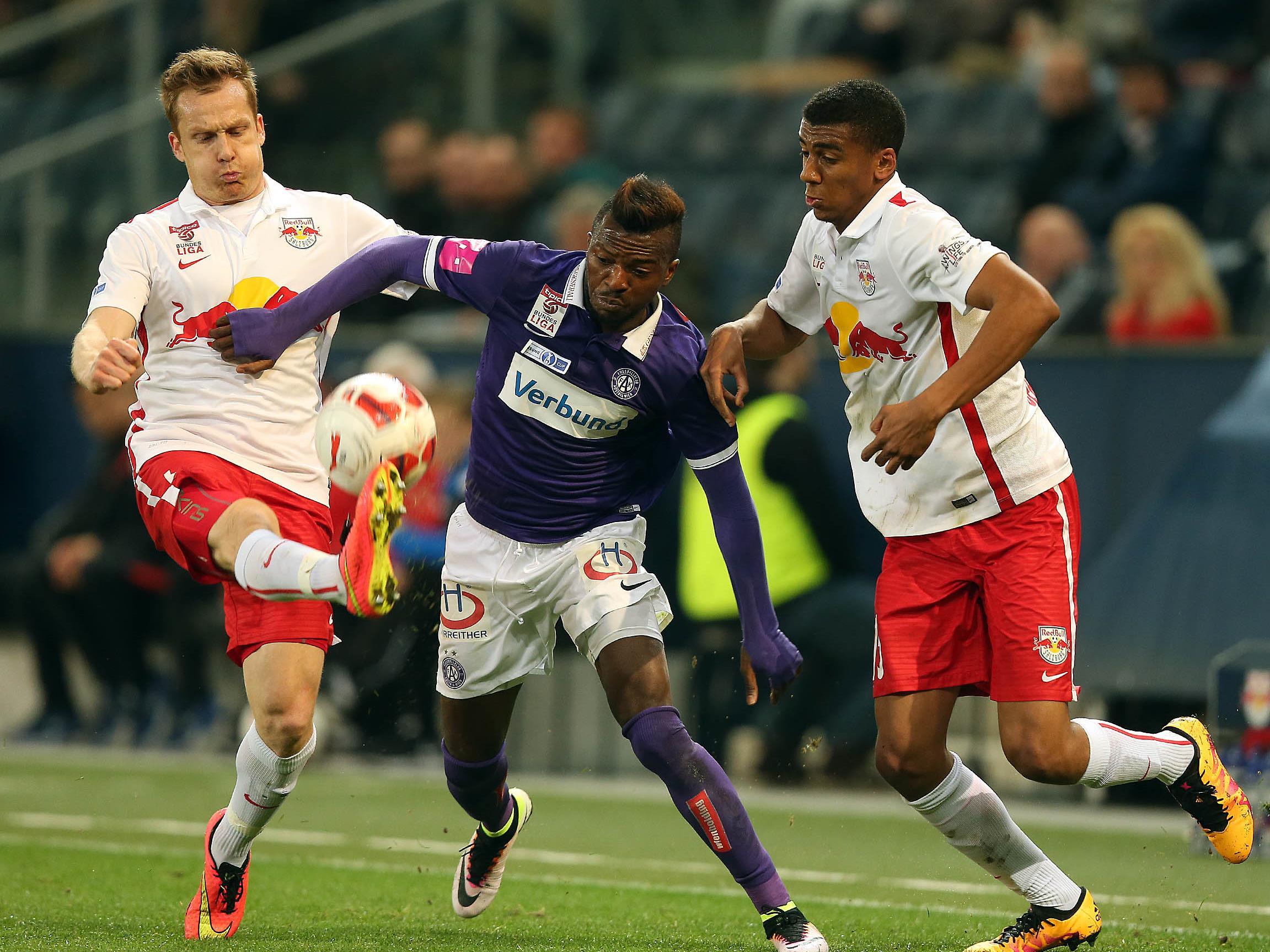 Der Bundesliga-Schlager Austria gegen Salzburg in der Generali-Arena.
