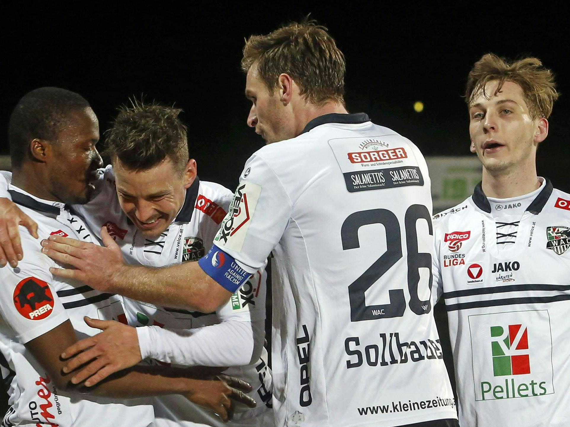 LIVE-Ticker zum Spiel SV Grödig gegen WAC ab 18.30 Uhr,