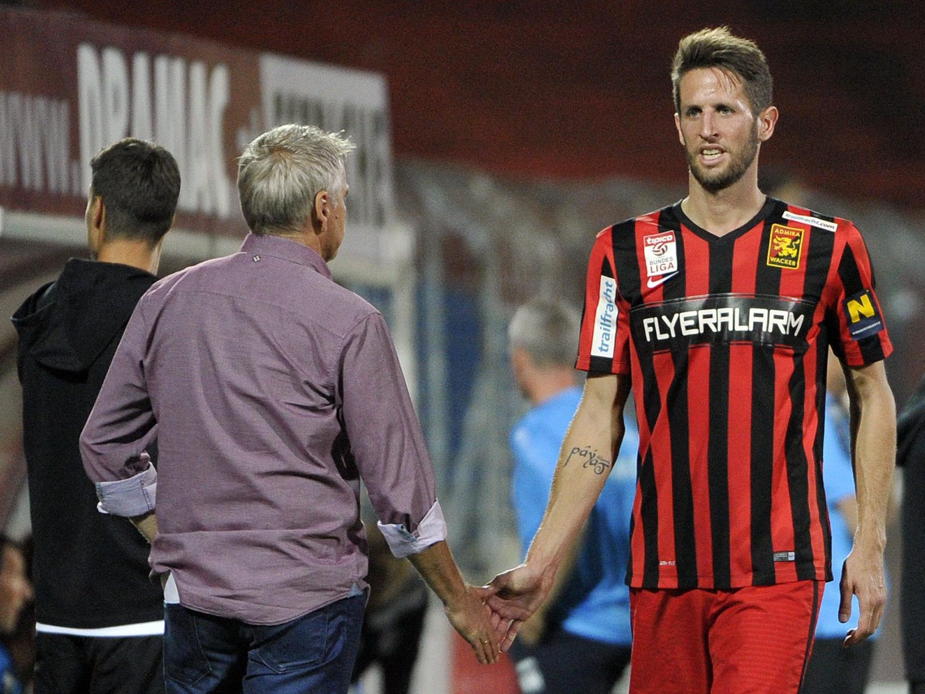 Christoph Schößwendter wechselt von der Admira zu Rapid.