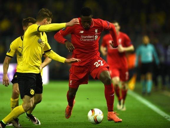Origi erzielte die Führung für den FC Liverpool.