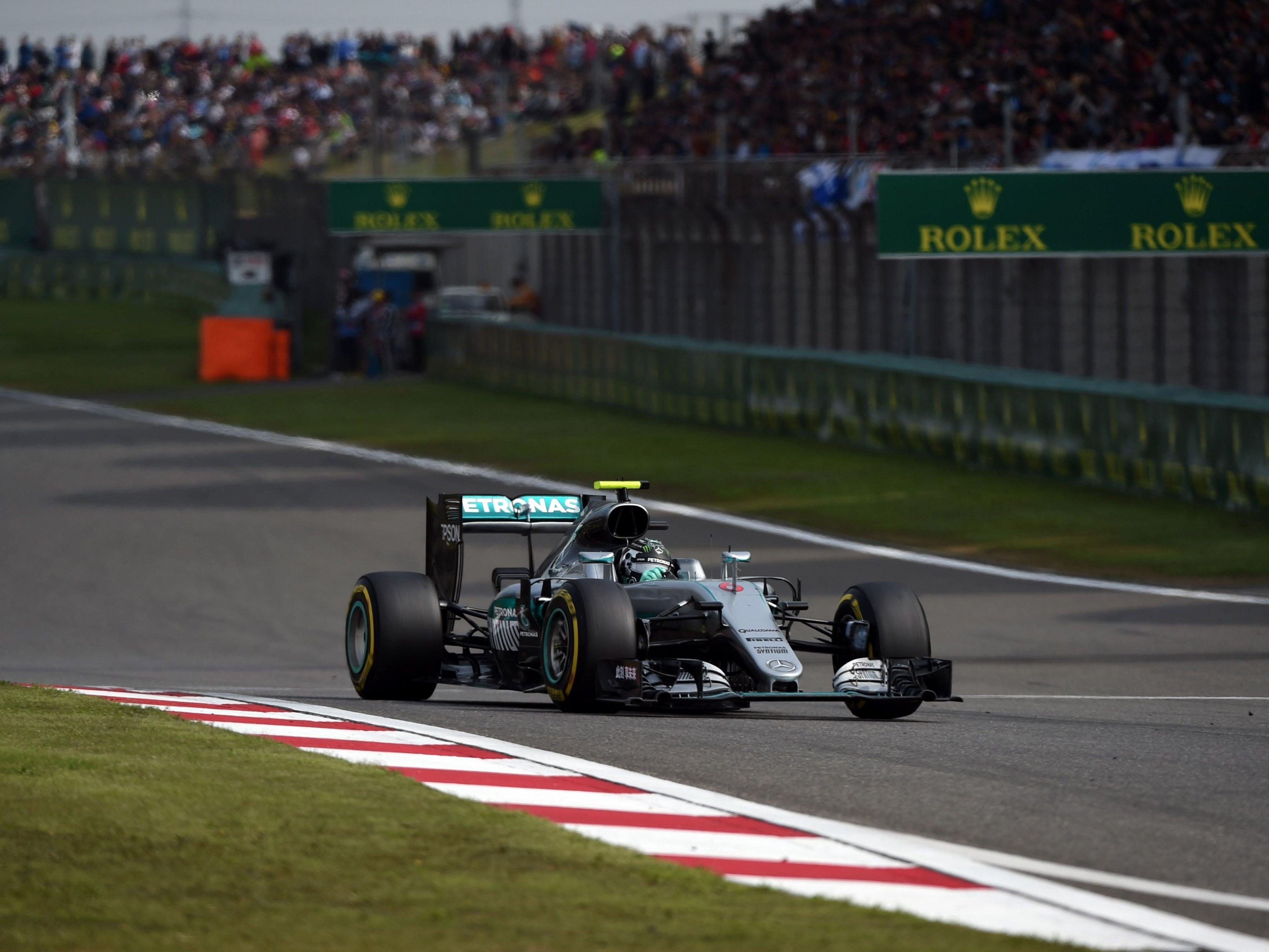 Vettel sorgte als Zweiter für deutschen Doppelsieg.