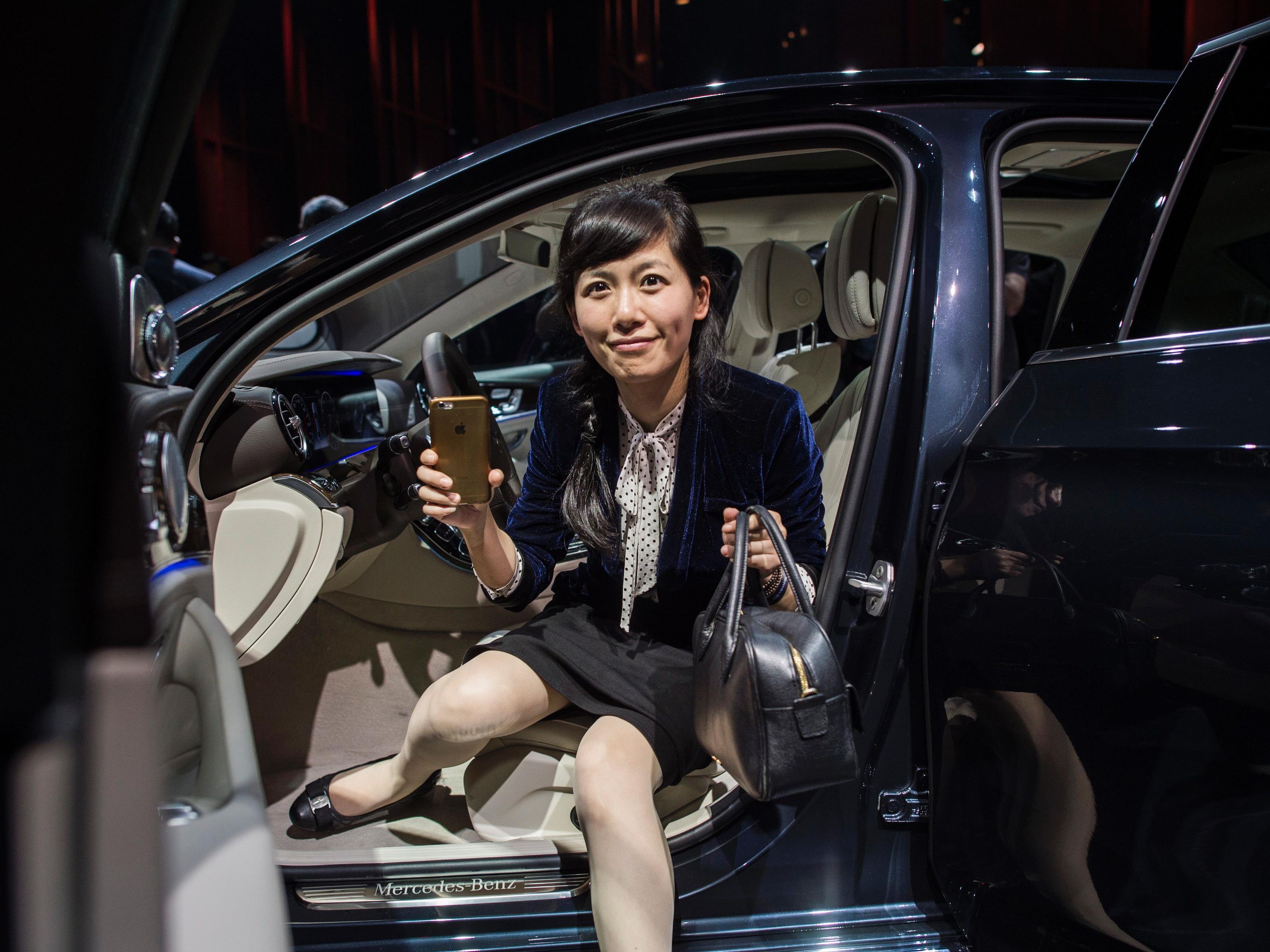 In China werden die Nummernschilder für Autos mit Benzinmotor verlost.