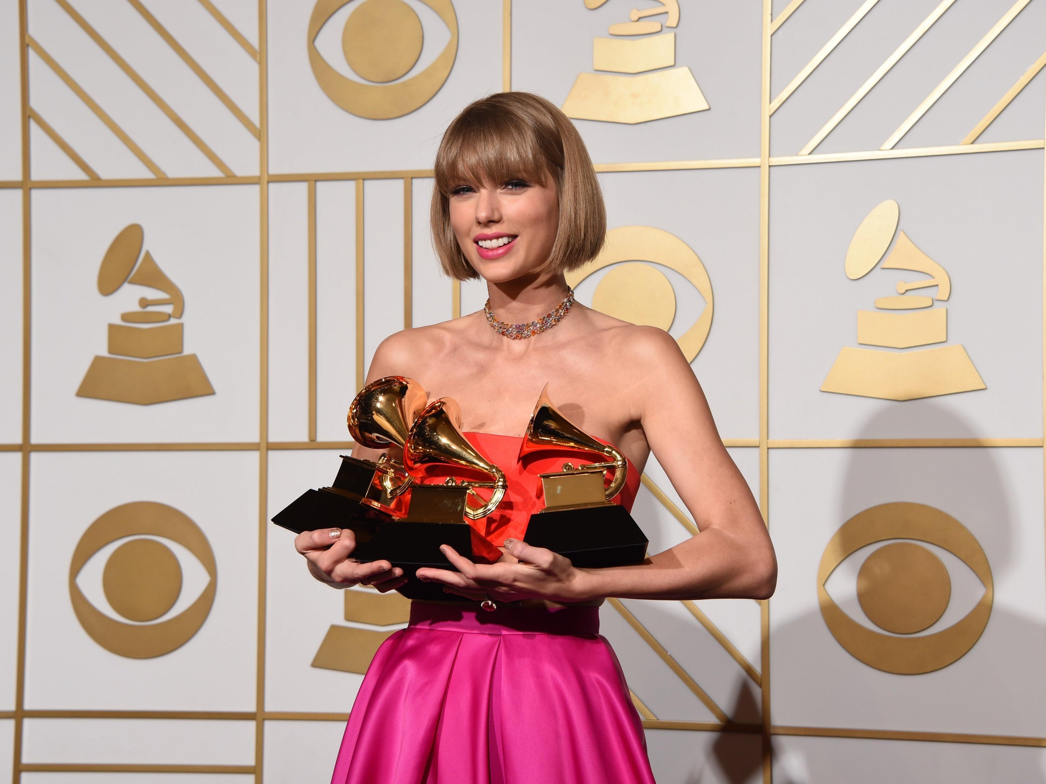Taylor Swift gewann mit ihrer Musik schon viele Preise.