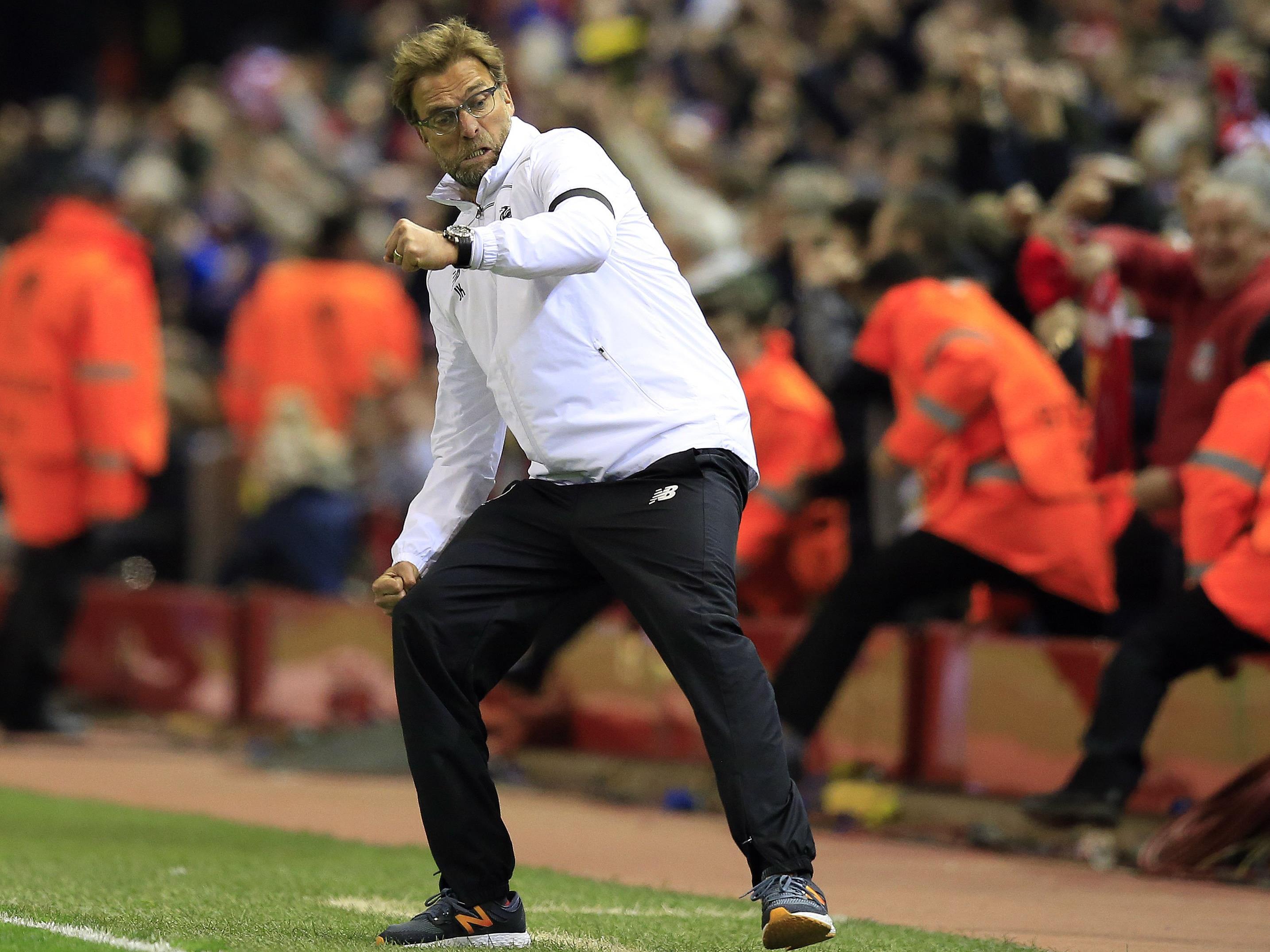 """Jürgen Klopp und die """"Reds"""" aus Liverpool gastieren in Spanien."""