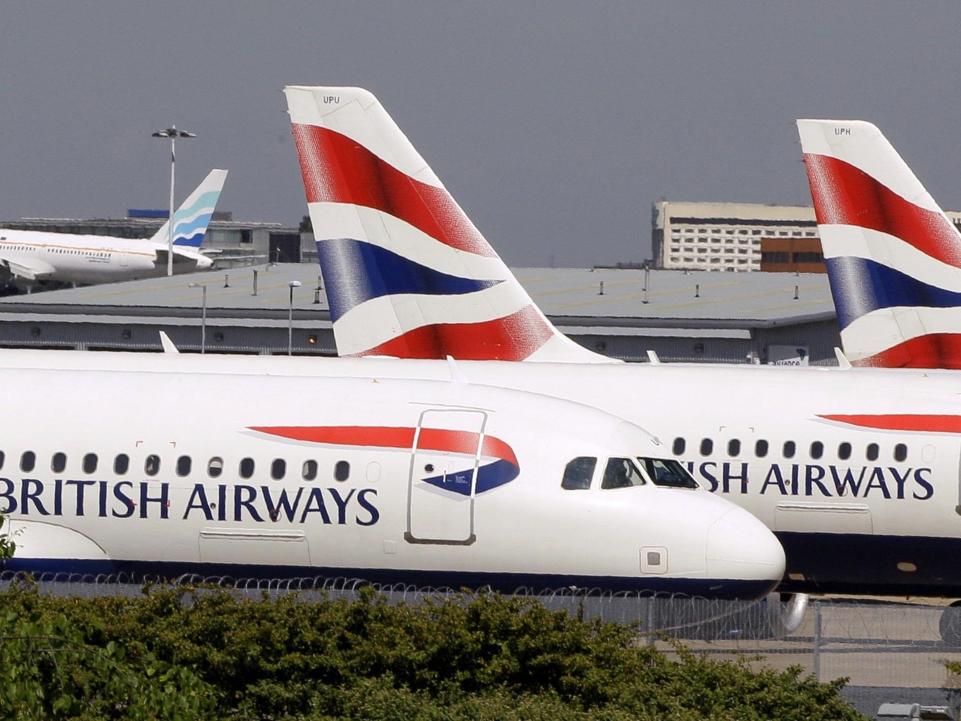 Der A320 der British Airways konnte trotz Zusammenstoß mit einer Drohne sicher landen.