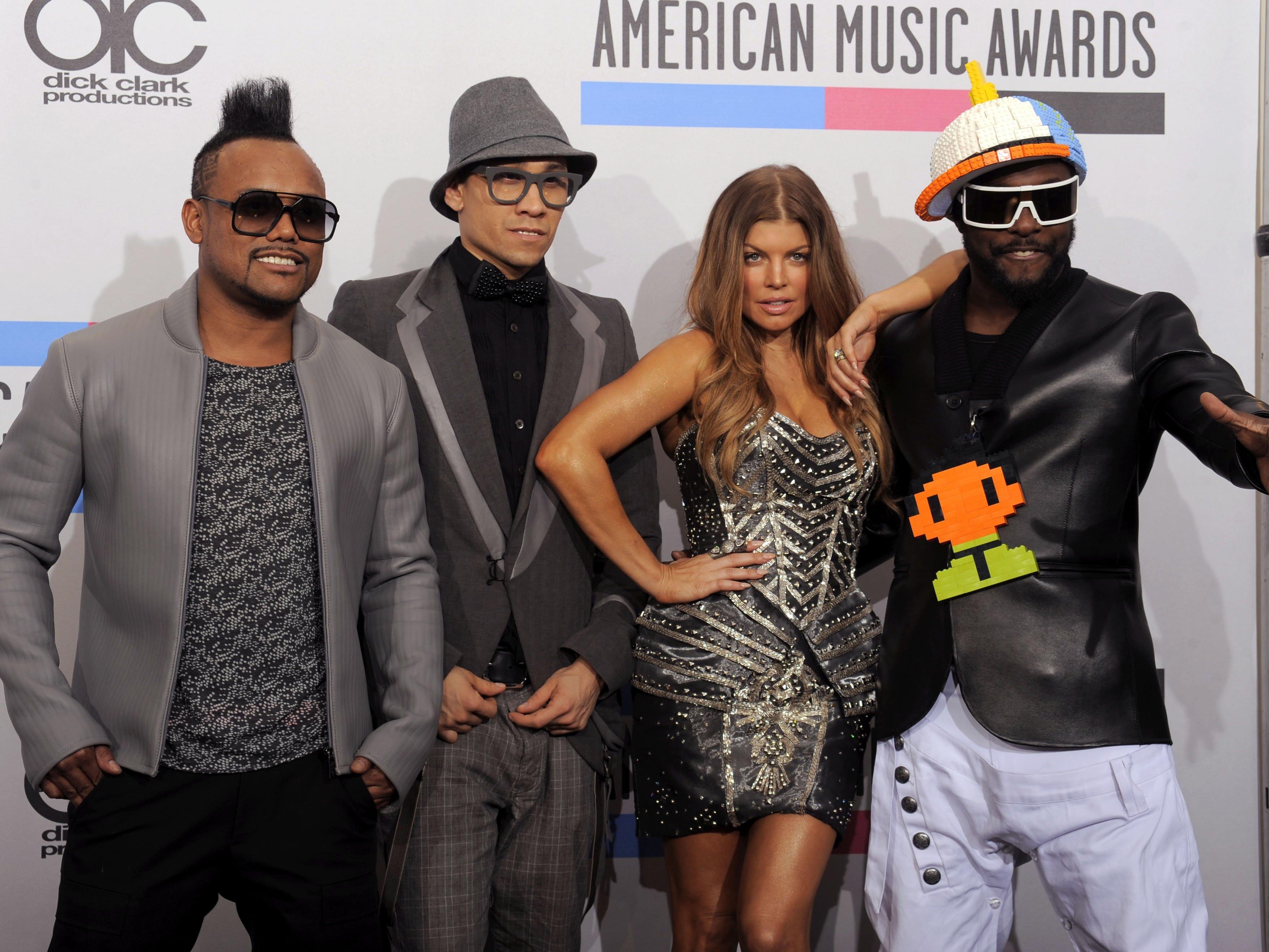 The Black Eyed Peas starten 2016 ein Comeback.