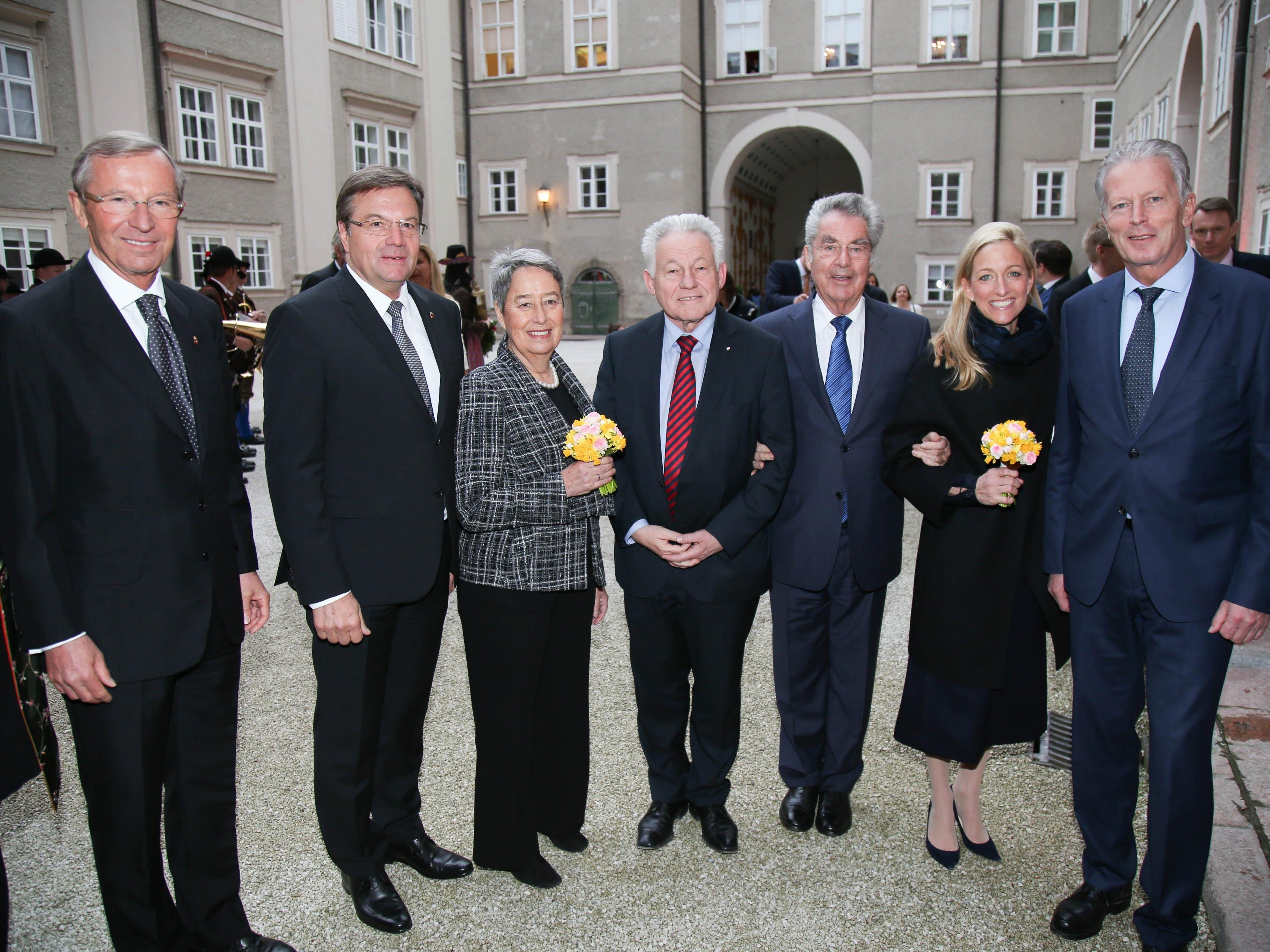 Feierlicher Festakt zu 200 Jahre Salzburg in Österreich.