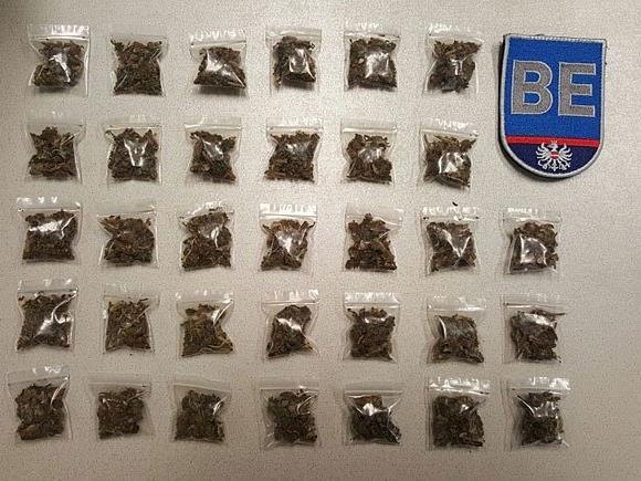 In der Gablenzgasse wurde ein 17-Jähriger mit Drogen erwischt