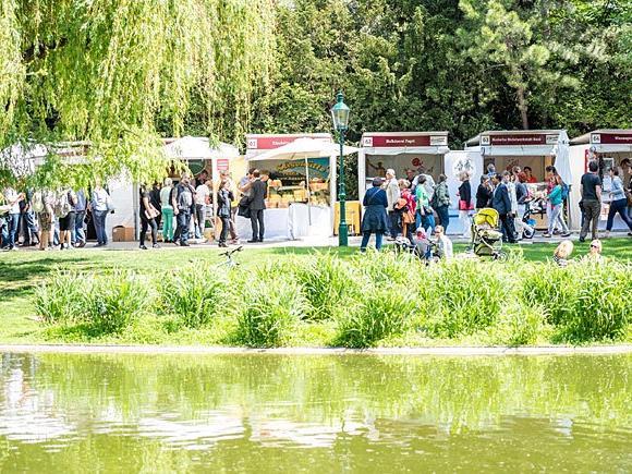Beim Genussfestival im Wiener Stadtpark warten Köstlichkeiten aus ganz Österreich