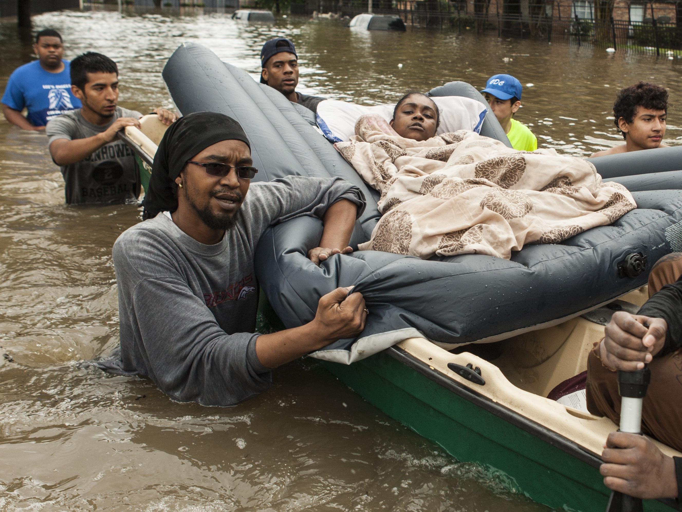 Eine Überschwemmung in Texas sorgte für Tote und Verletzte.