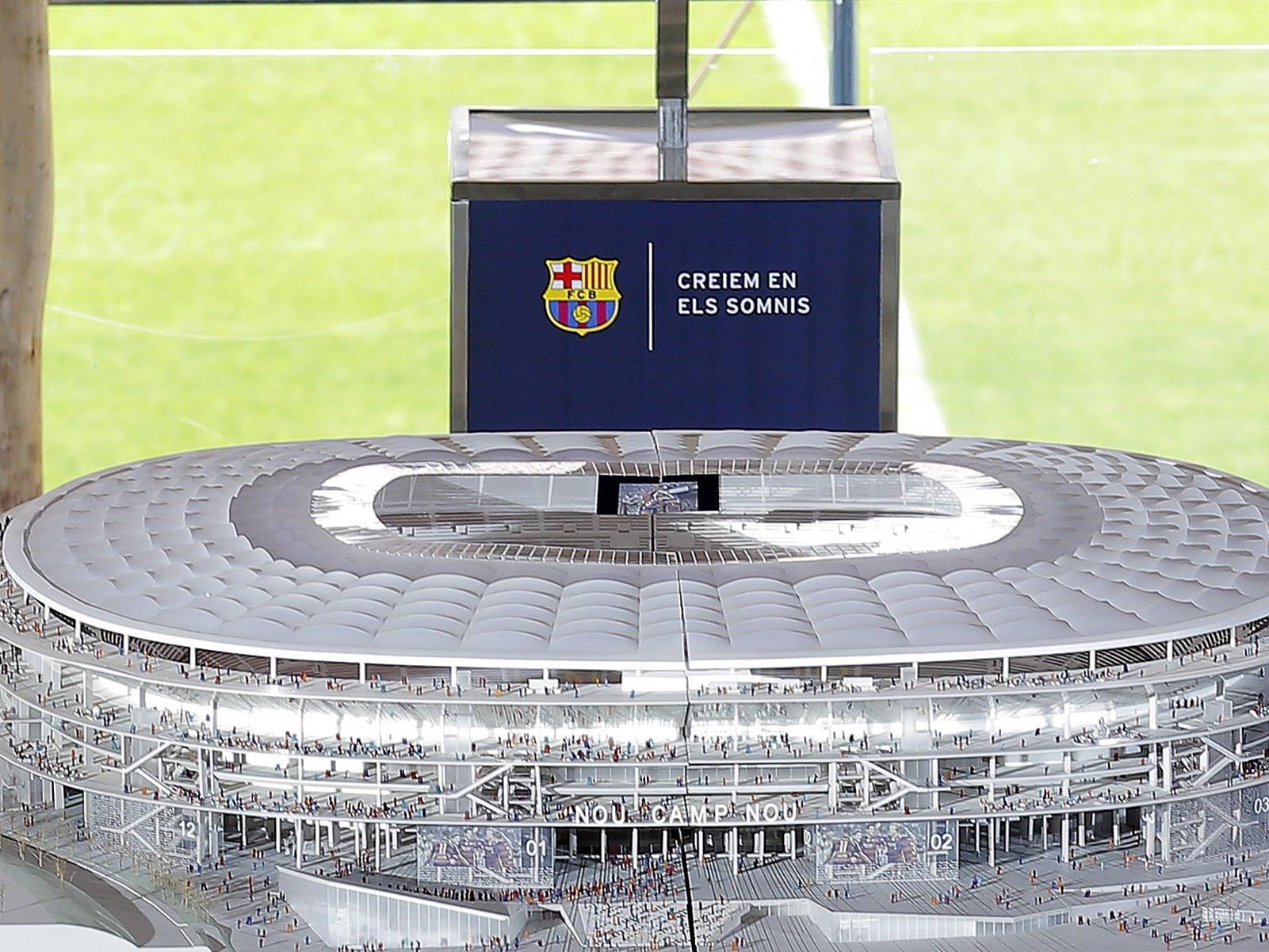 So soll das neue Camp Nou nach dem Umbau aussehen