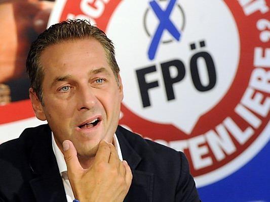 FPÖ-Chef Strache hat sich bei dem Fotografen entschuldigt