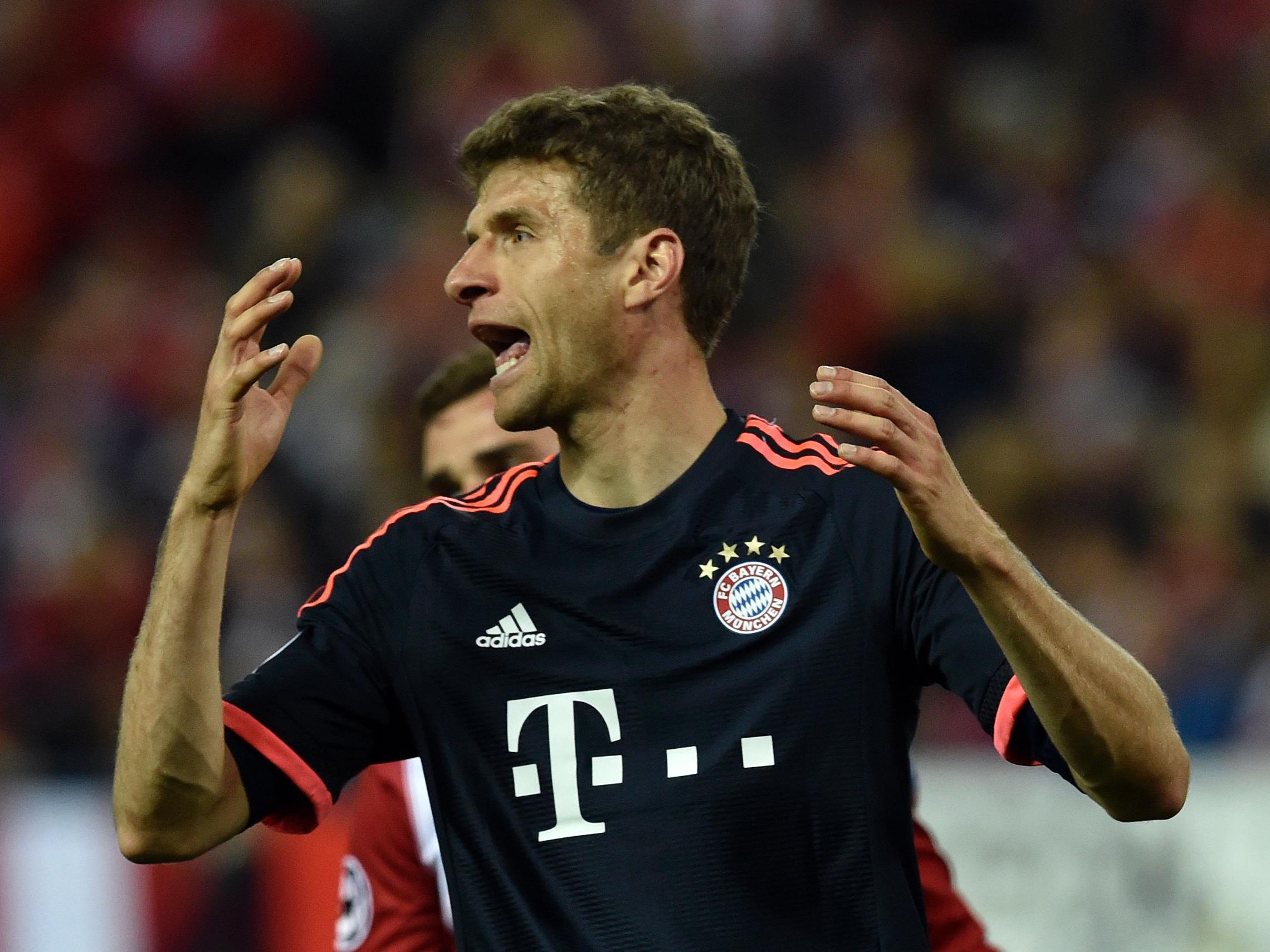 Thomas Müller und der FC Bayern können ihren Meistertitel am Samstag fixieren.