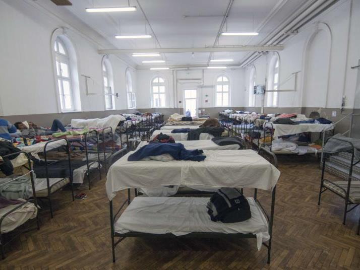 Vorfall im Flüchtlingsheim Traiskirchen.