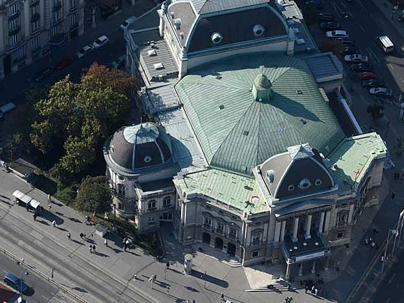 Das Wiener Volkstheater wird generalsaniert