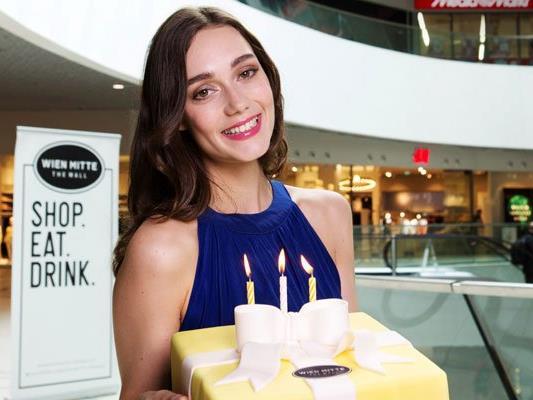 """Das Einkaufszentrum Wien Mitte """"The Mall"""" feiert mit zahlreichen Angeboten Geburtstag."""
