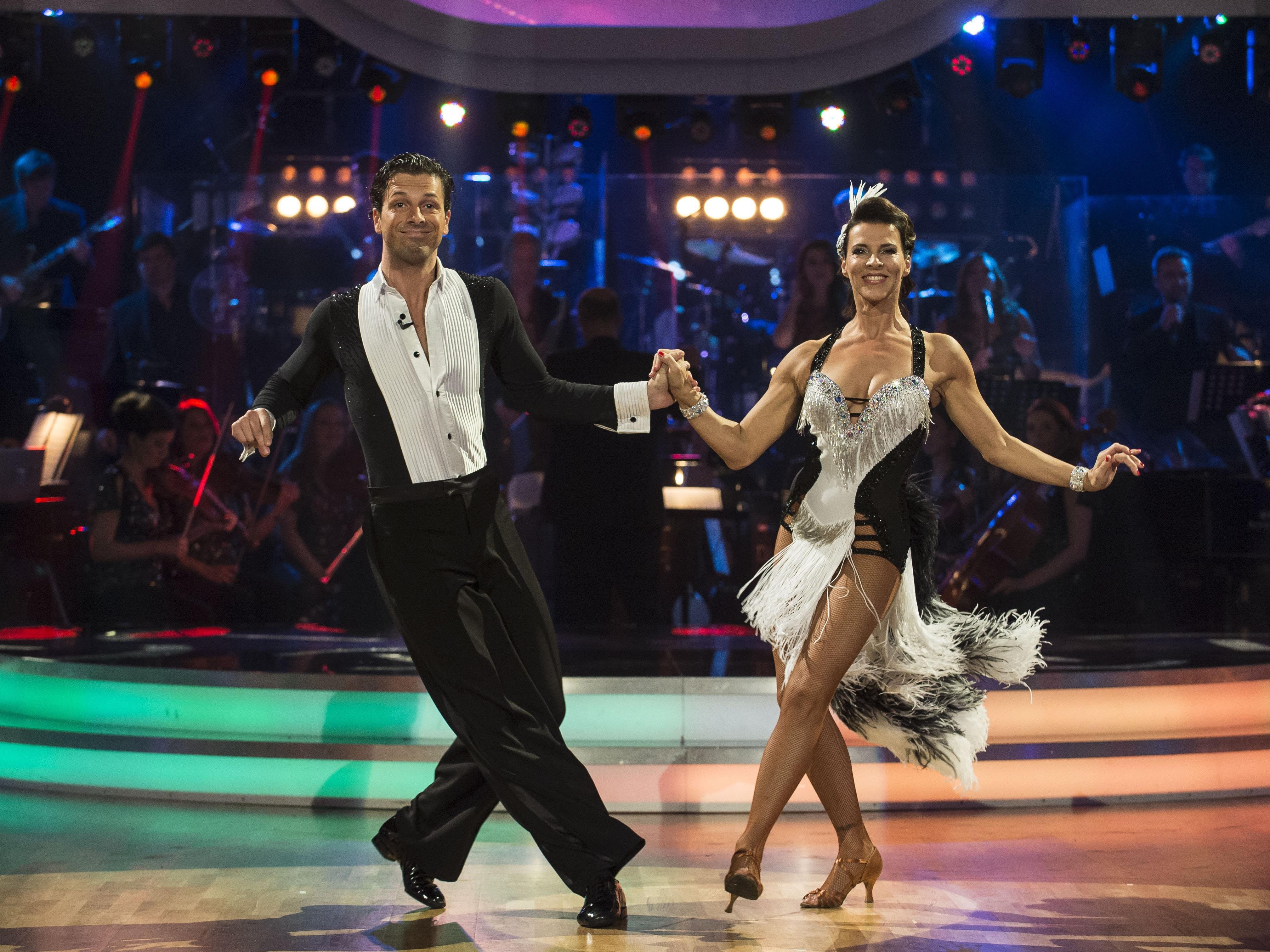 Für Sabine Petzl und Tanzpartner Thomas Kraml kam am Freitag das Aus.