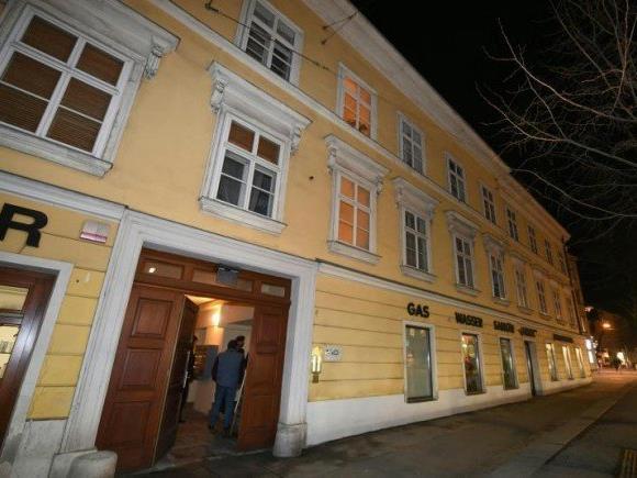 Am Tatort in Wien-Wieden
